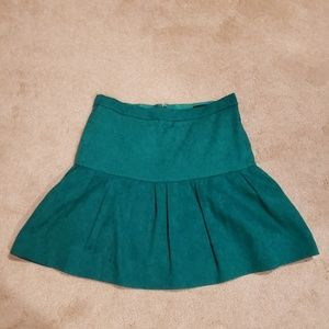 J.Crew drop waist brocade skirt